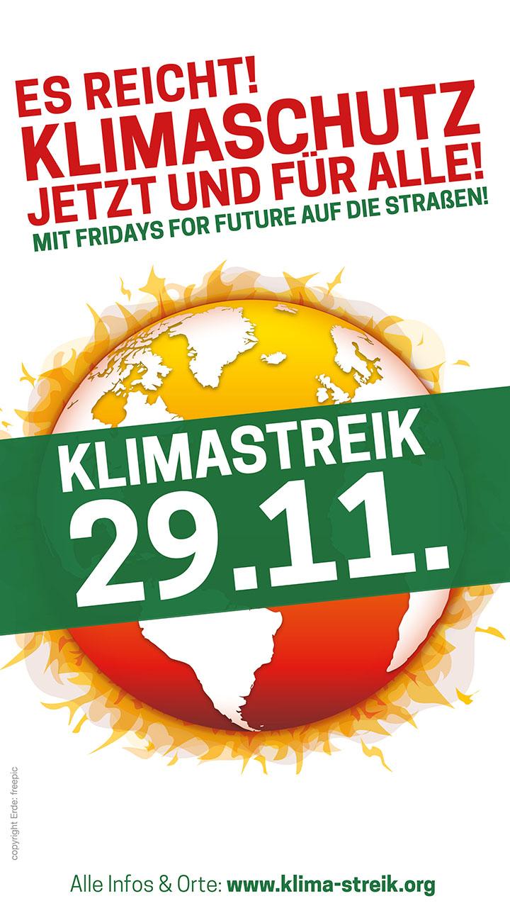 Banner Klimastreik